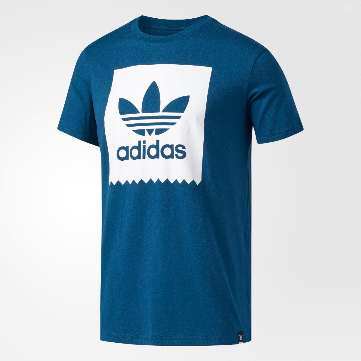 to buy new style coupon code Men's Adidas Originals Trefoil Solid Tee Blue Night BR5010 ...