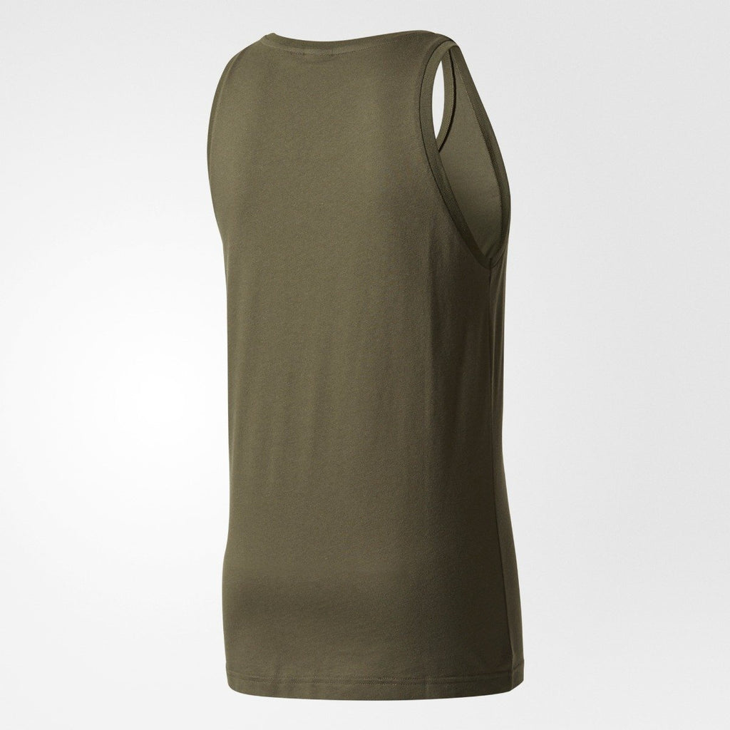 Men's Adidas Originals Trefoil Tank Top Night Cargo