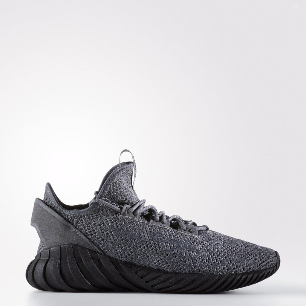 Men's adidas Originals Tubular Doom Sock Primeknit Shoes Grey