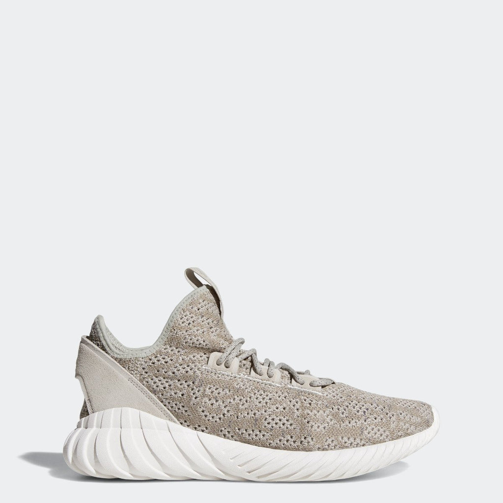Men's adidas Originals Tubular Doom Sock Primeknit Shoes Sesame