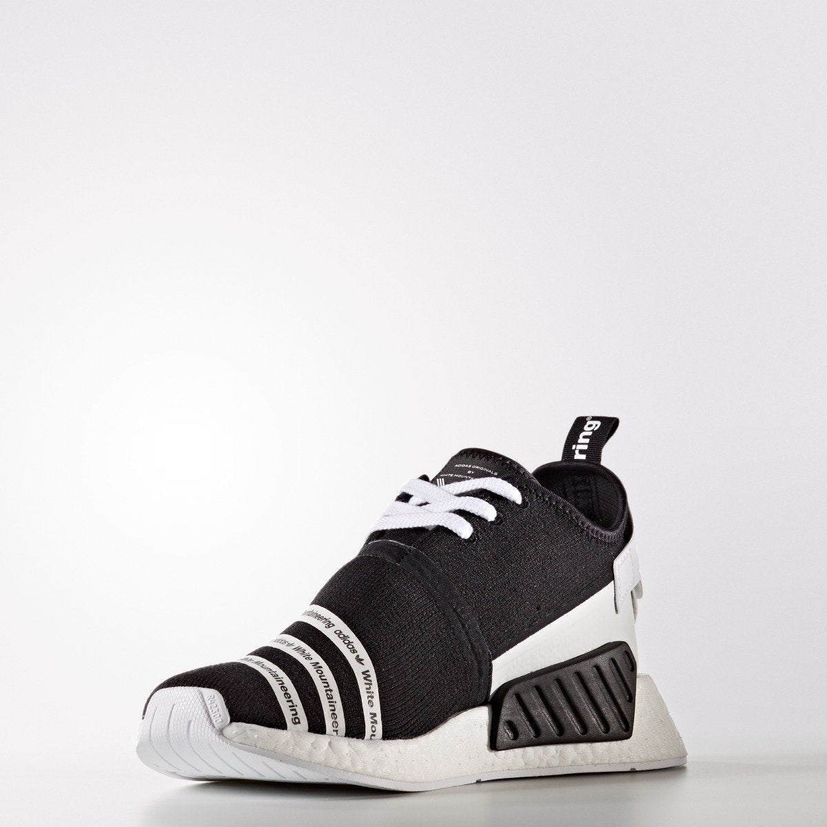 sports shoes 09478 555d8 Men's adidas Originals White Mountaineering NMD_R2 Primeknit ...