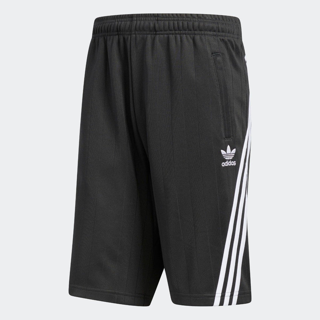 Men's adidas Originals Wrap Shorts Carbon CE4850 | Chicago City Sports | front view