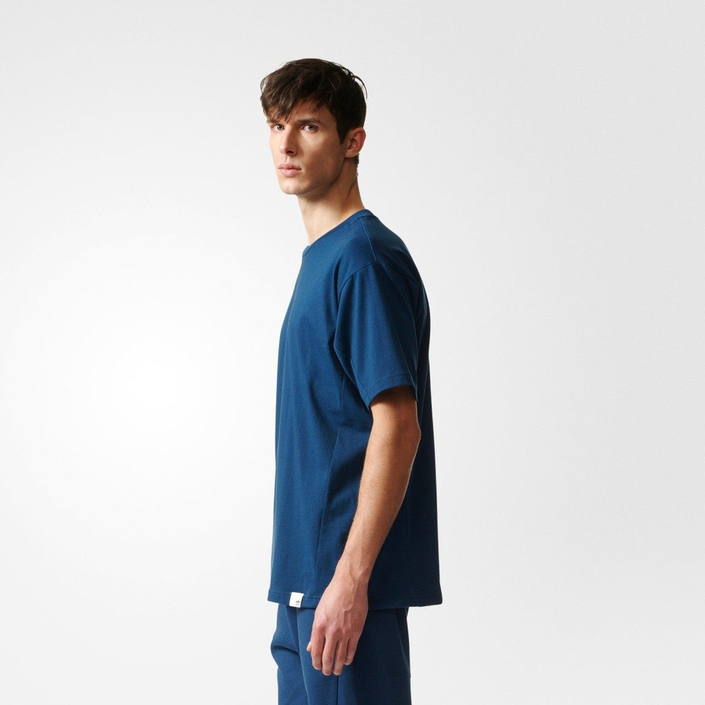 Men's Adidas Originals XBYO Tee Mineral Blue