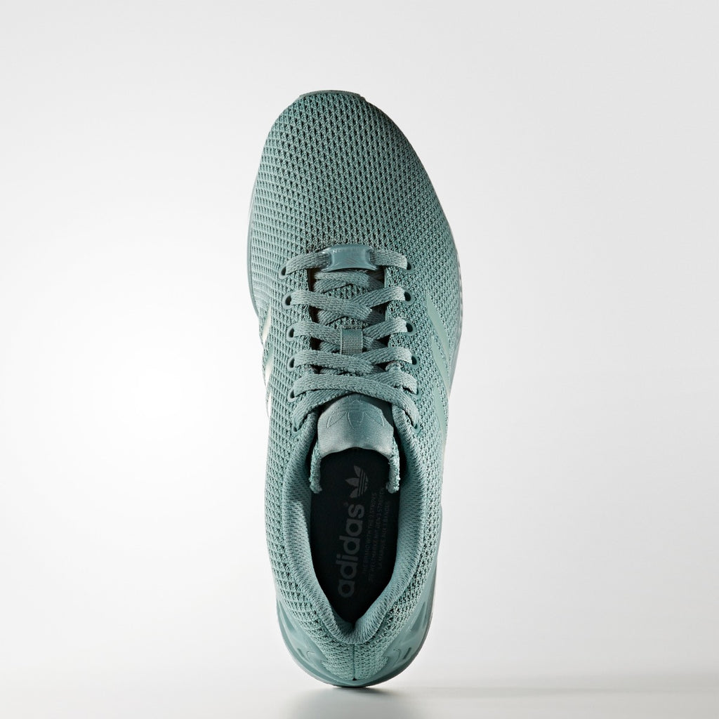 Men's Adidas Originals ZX Flux All Green