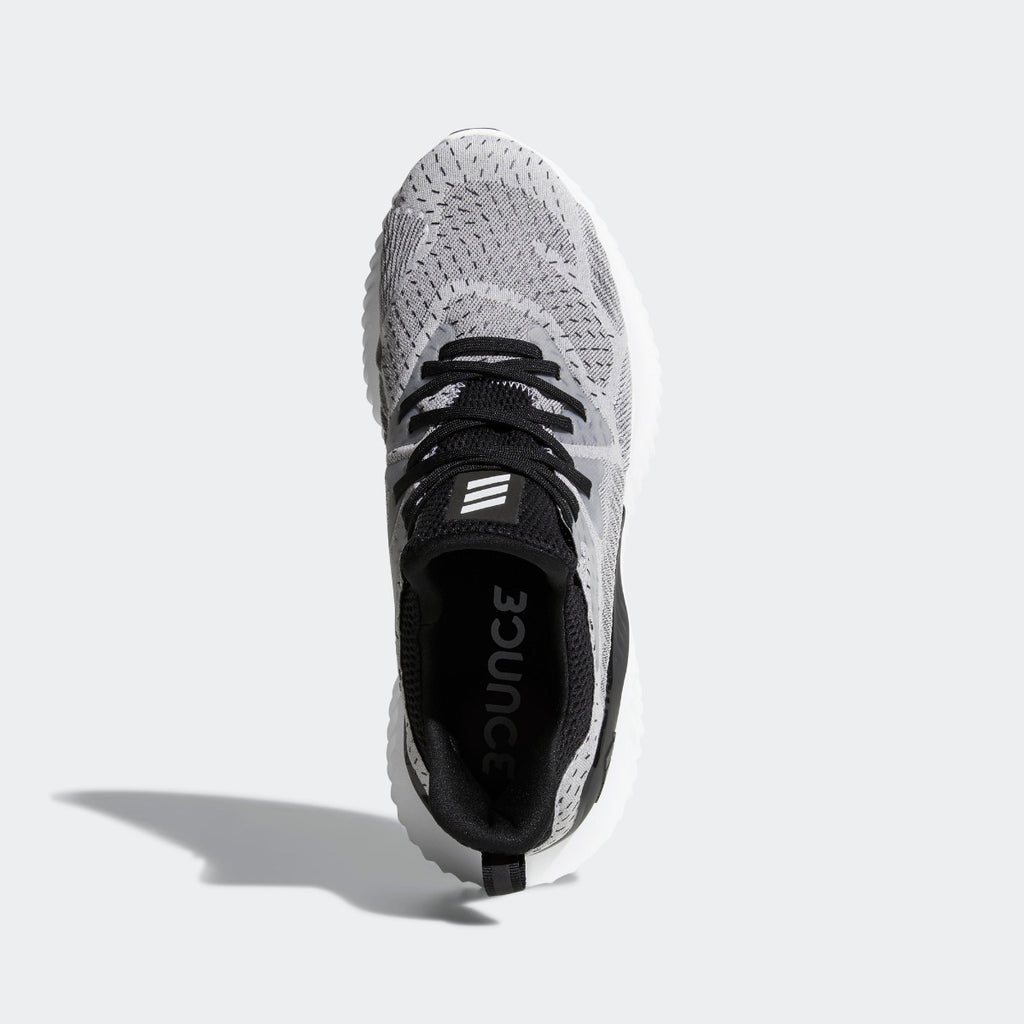 Men's adidas Running Alphabounce Beyond Shoes Gray Black White