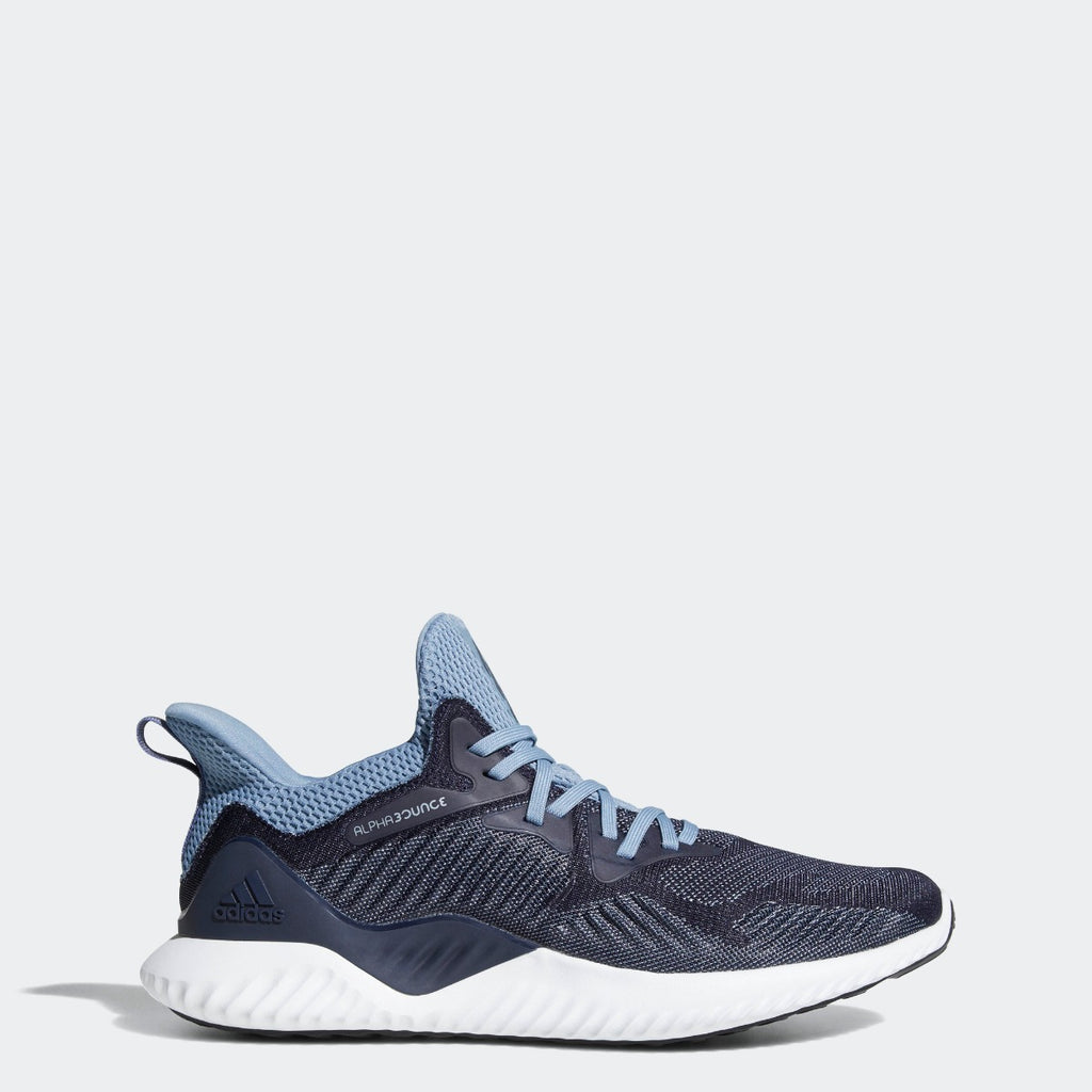 Men's adidas Running Alphabounce Beyond Shoes Legend Ink CG4764 | Chicago City Sports | side view