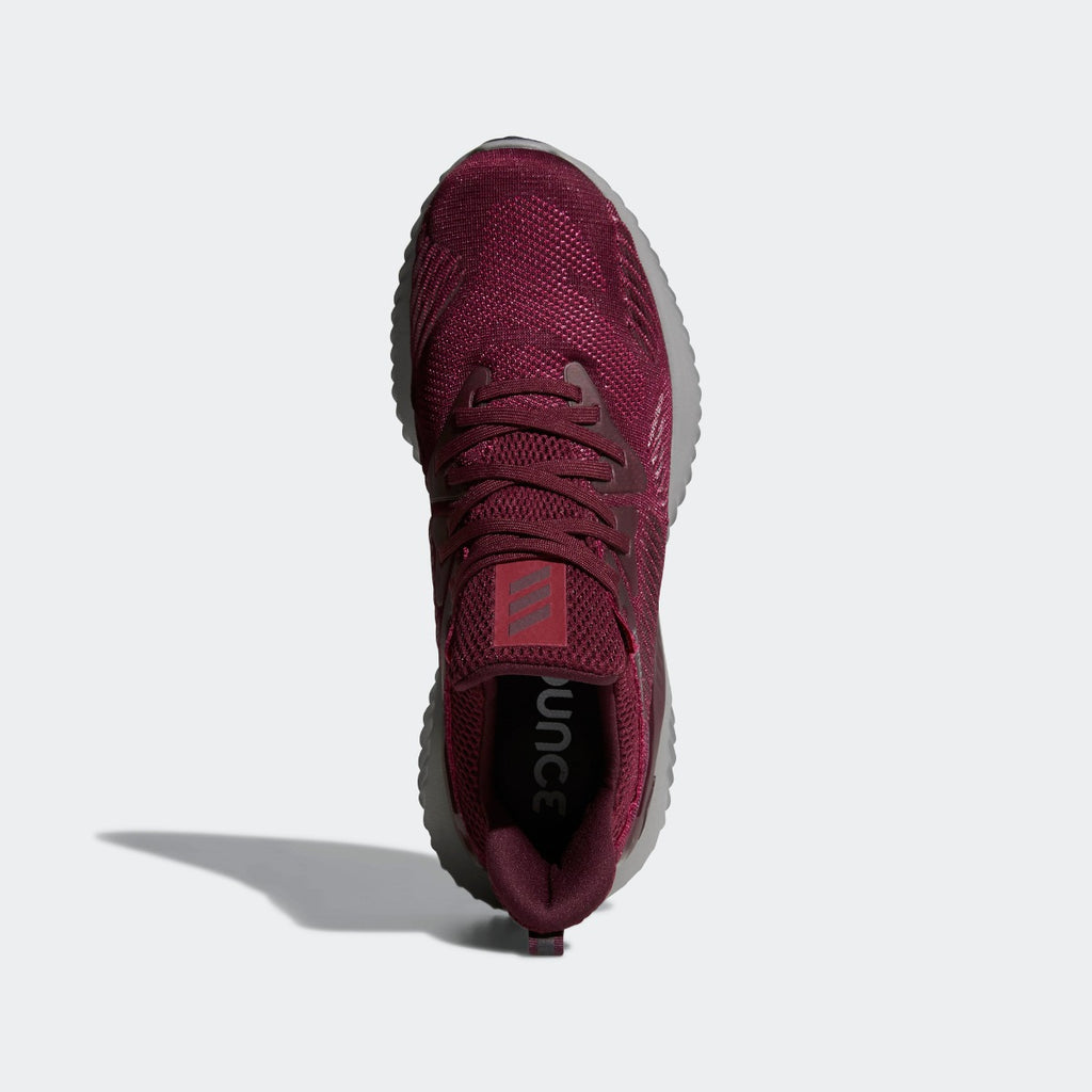 Men's adidas Running Alphabounce Beyond Shoes Maroon Mystery Red CG4761 | Chicago City Sports | top view