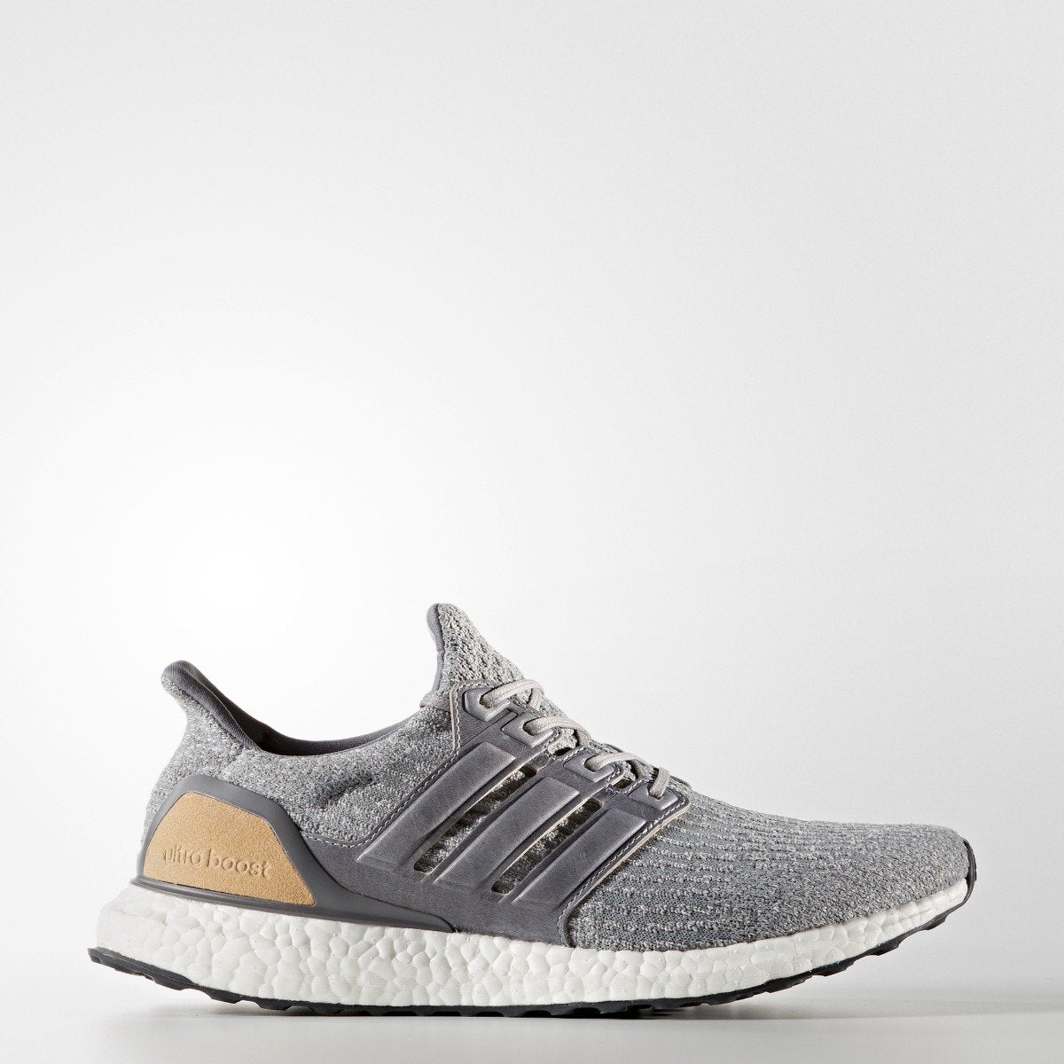 2deb04fdd62 Men s Adidas Running Ultraboost 3.0 Limited Edition Leather Cage Grey