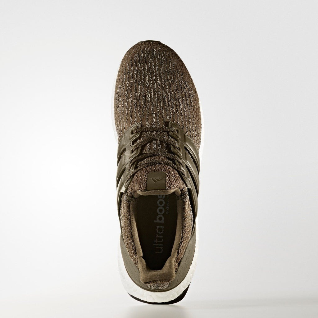 Men's adidas Running Ultraboost Shoes Trace Olive
