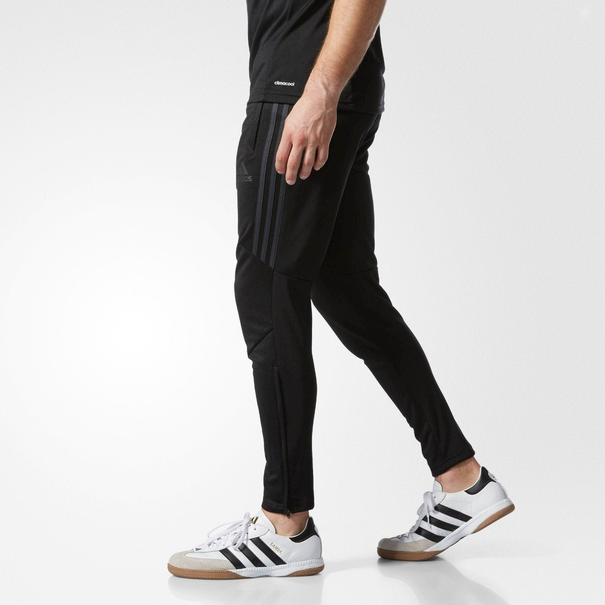 Men's Adidas Soccer Tiro 17 Training Pants Black | Chicago