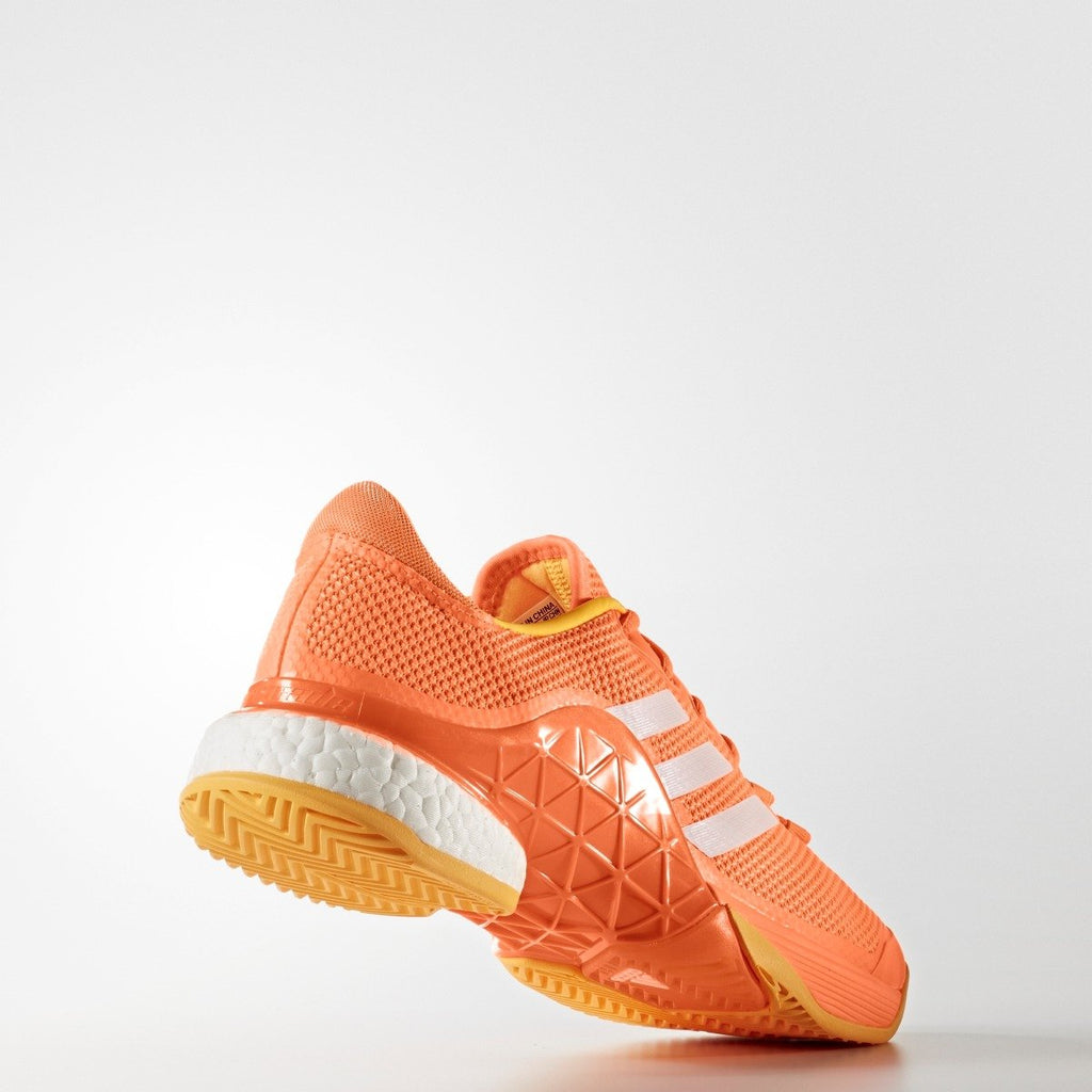 Men's Adidas Tennis Barricade Boost 2017 Shoes Orange