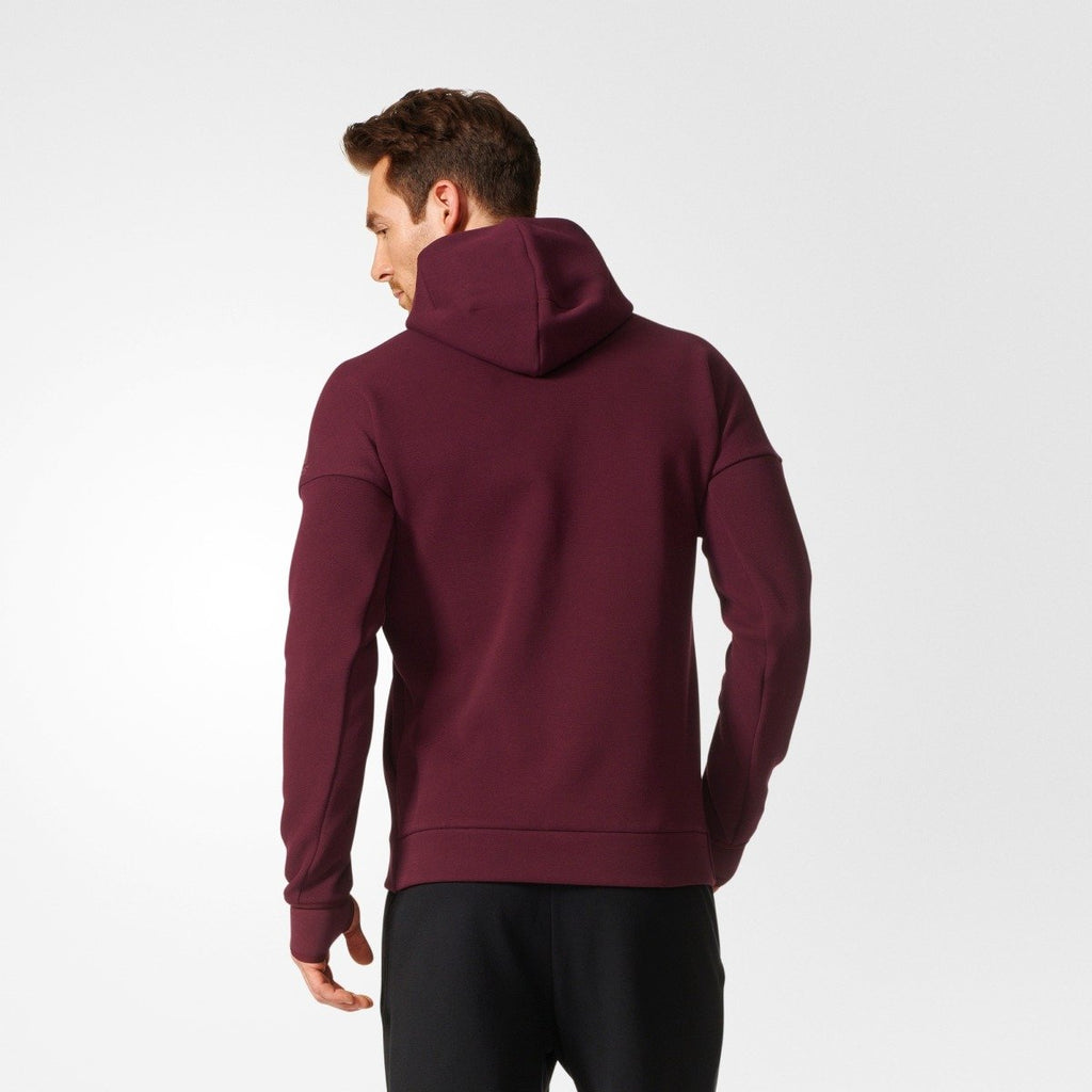 Men's adidas Athletics Z.N.E. Hoodie Maroon