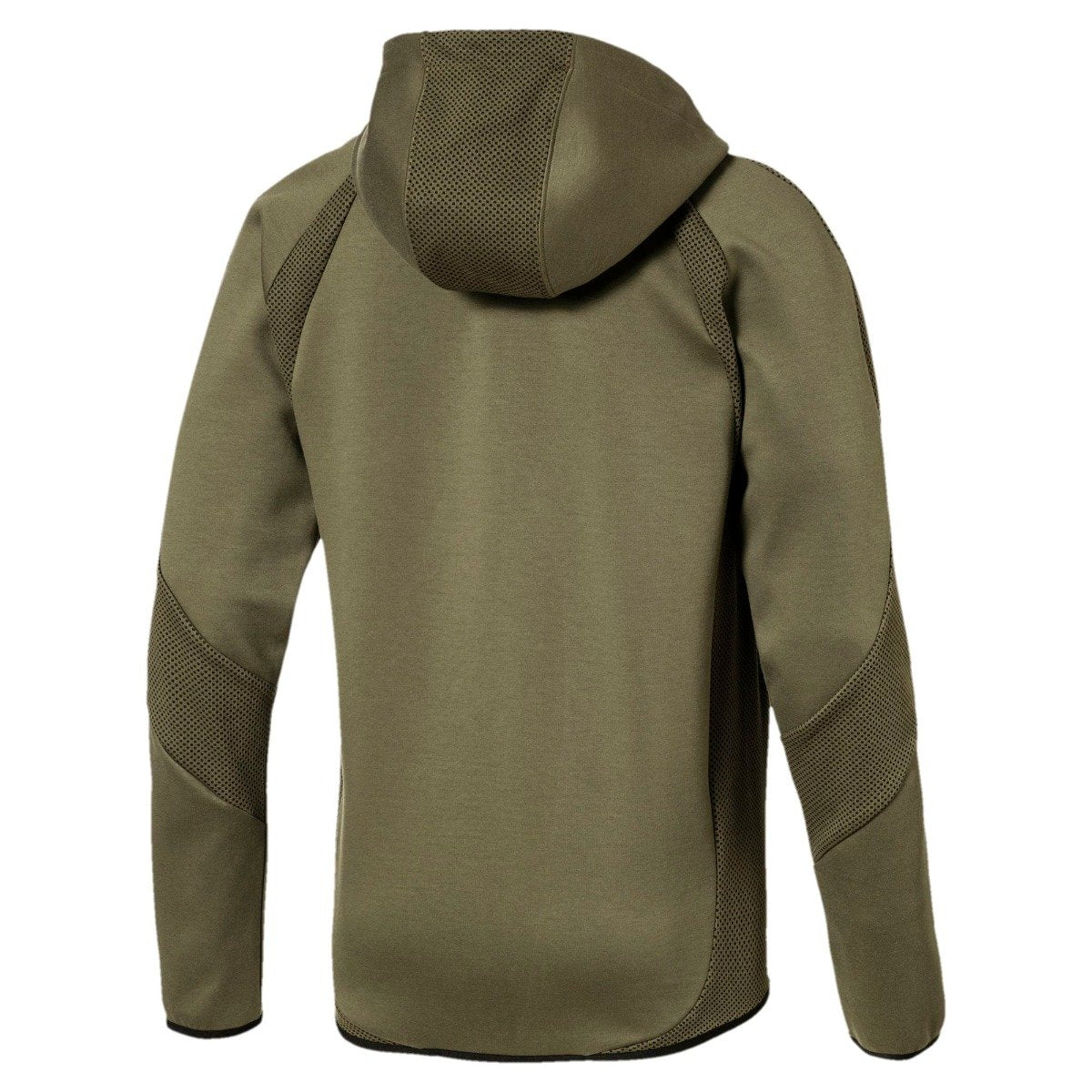 0d82f89a2a9e Men s PUMA Active Evostripe Ultimate Full Zip Hoodie Olive Night ...