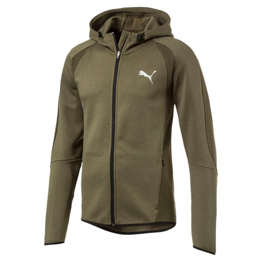 Men's PUMA Active Evostripe Ultimate Hoodie Olive Night 59261814