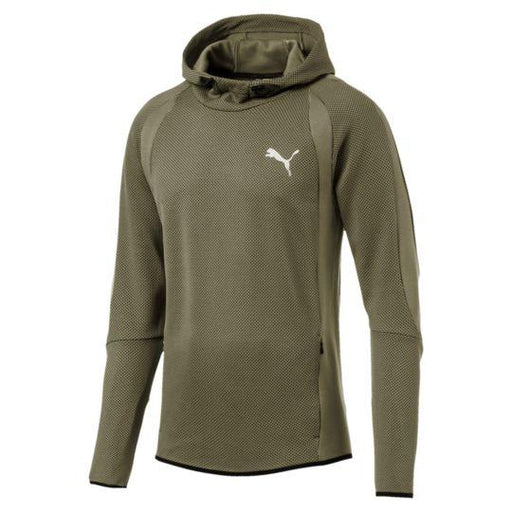 Men's PUMA Active Evostripe Ultimate Hoodie Olive Night 59261914