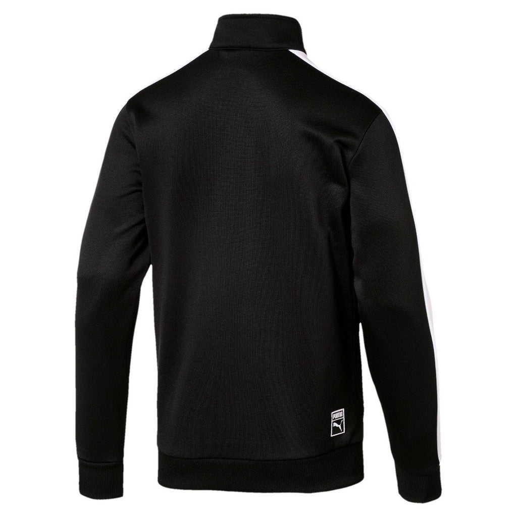 Men's PUMA Archive T7 Track Jacket Black 57331201 | Chicago City Sports | rear view