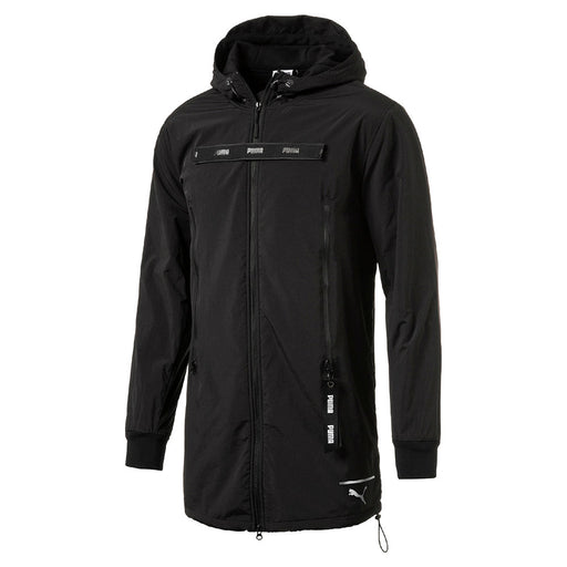 Men's PUMA Evolution New Long Jacket Black 57340201