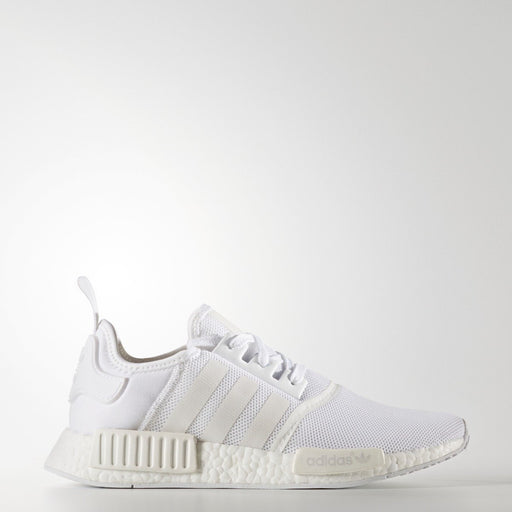 Men's adidas Originals NMD_R1 Primeknit Running Shoes White