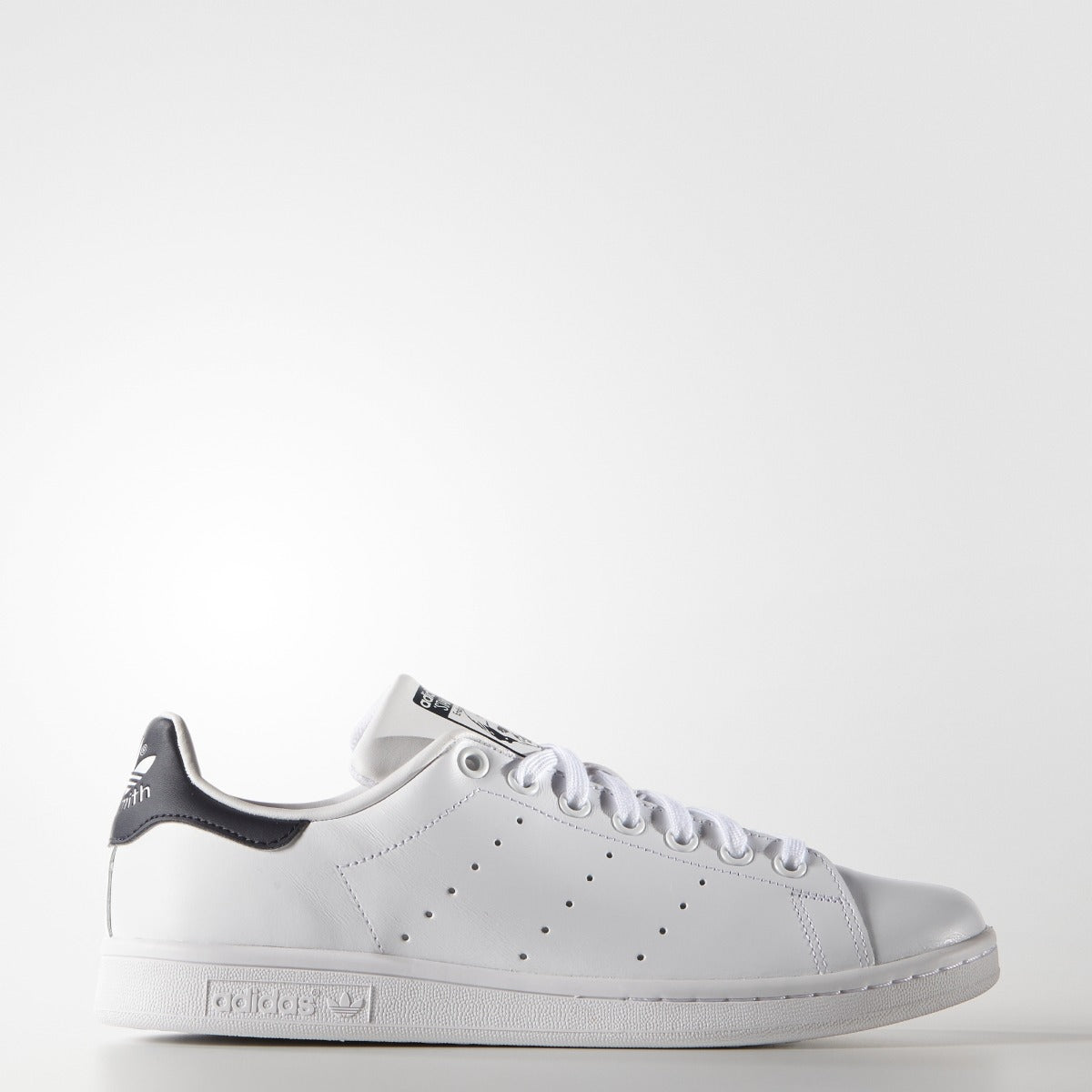 a4eb36bb4bbe3 Men s adidas Originals Stan Smith White Navy.  75.00