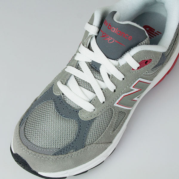Kid's New Balance 990v3 Grey