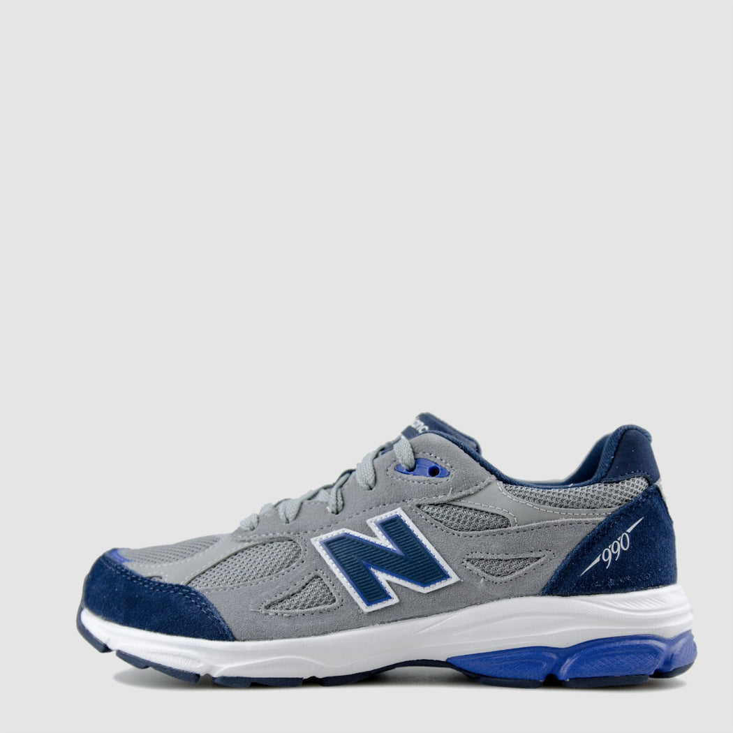 KID'S NEW BALANCE 990V3 GRAY/ BLUE