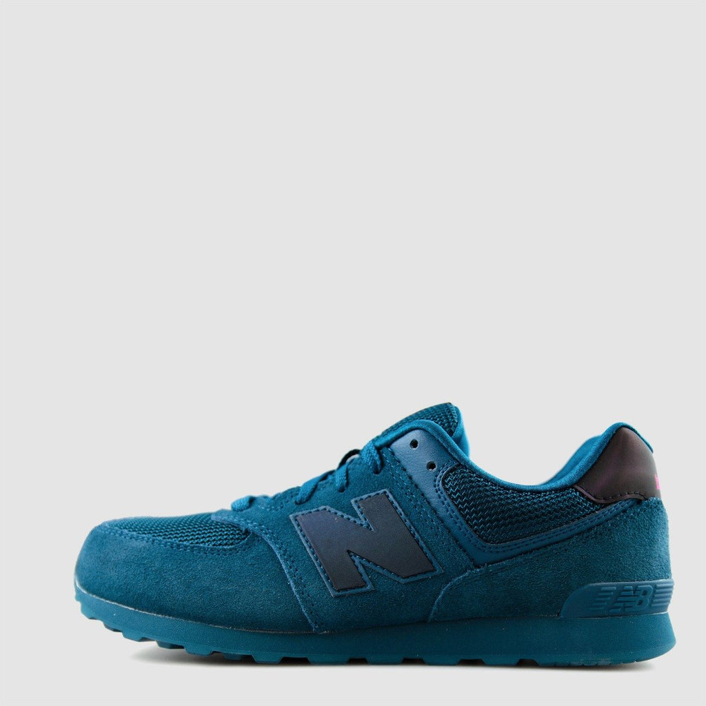 Kid's New Balance 574 Shoes Urban Twilight Teal