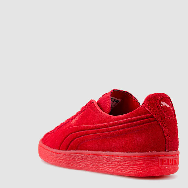Men's PUMA Suede Emboss Iced Shoes Red