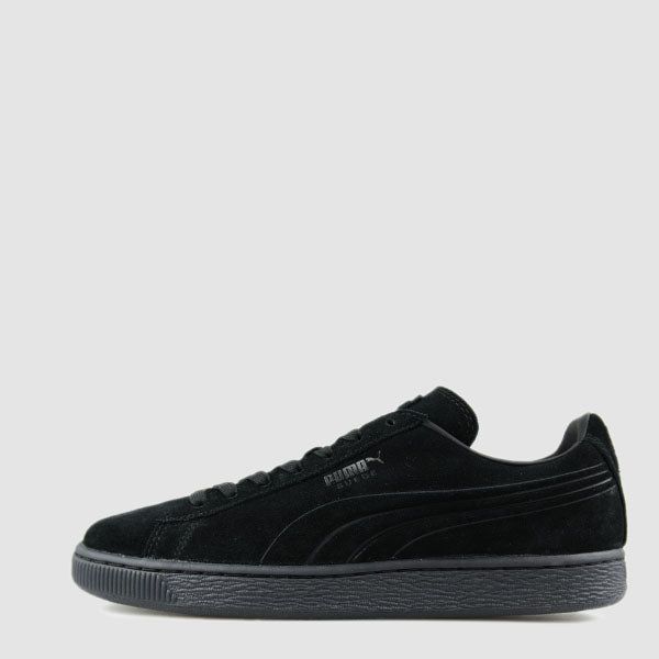 Men's PUMA Suede Emboss Iced Shoes Black