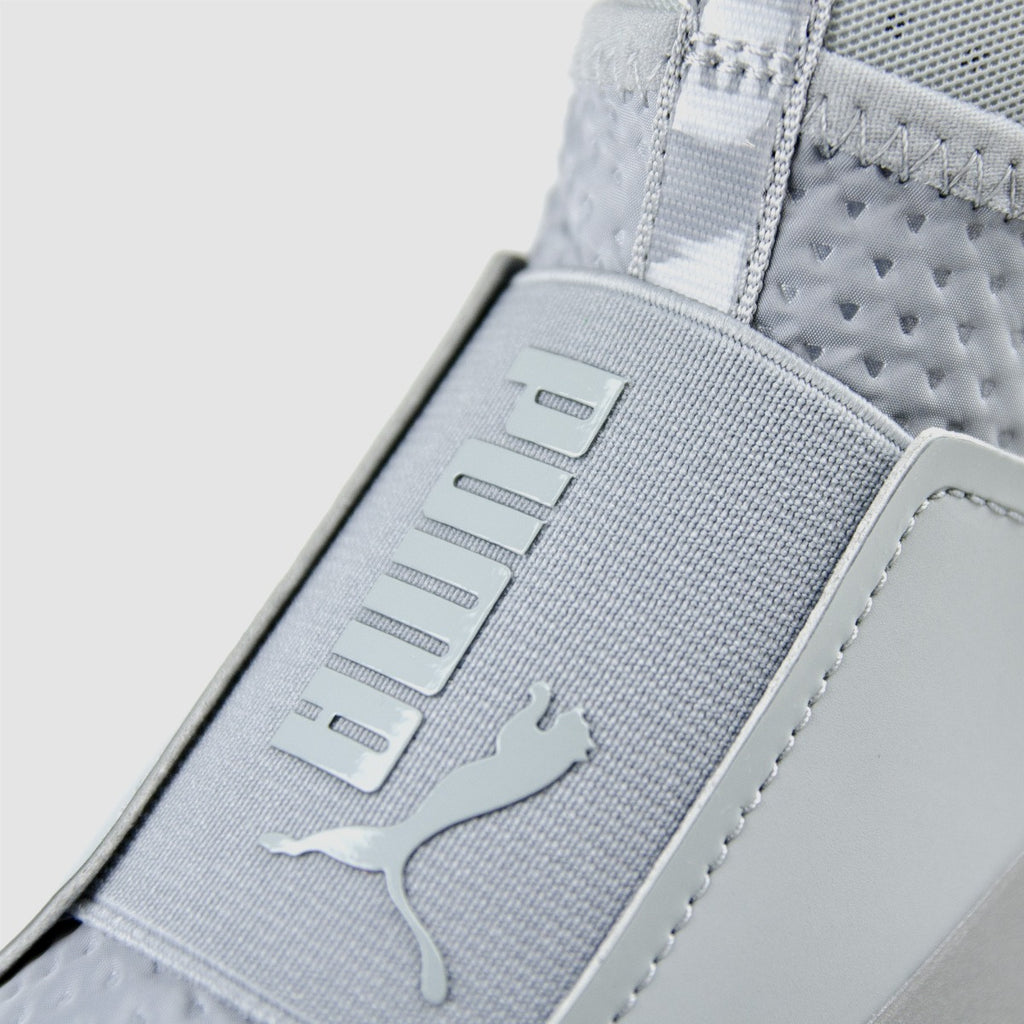 Women's PUMA Fierce Quilted Shoes Quarry 18941802 | Chicago City Sports | detailed tongue view