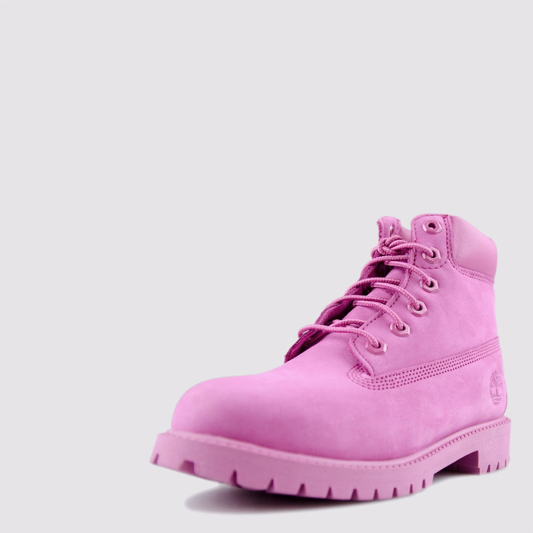 Kid's Timberland 6-Inch Premium Waterproof Boots All Pink