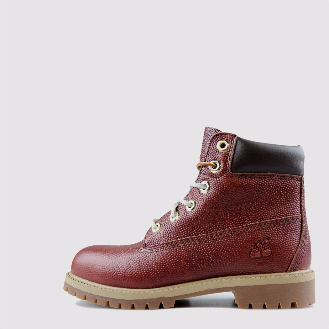Kid's Timberland 6-Inch Premium Horween Football Leather Boots