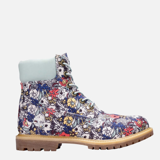 WOMEN'S TIMBERLAND 6-INCH PREMIUM FABRIC BOOTS FLORAL CANVAS TB0A1BHZD80