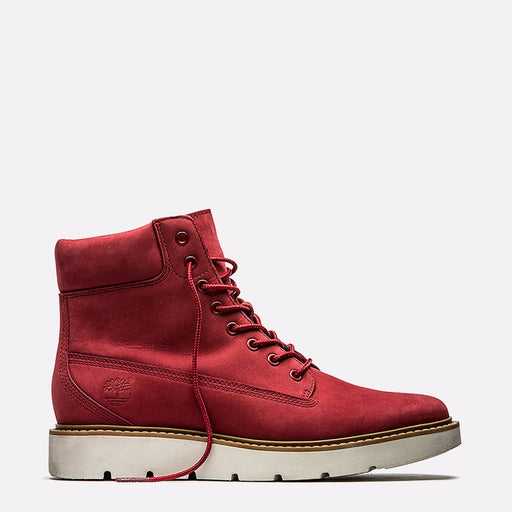Women's Timberland Kenniston 6-Inch Lace-Up Boots Ruby Red