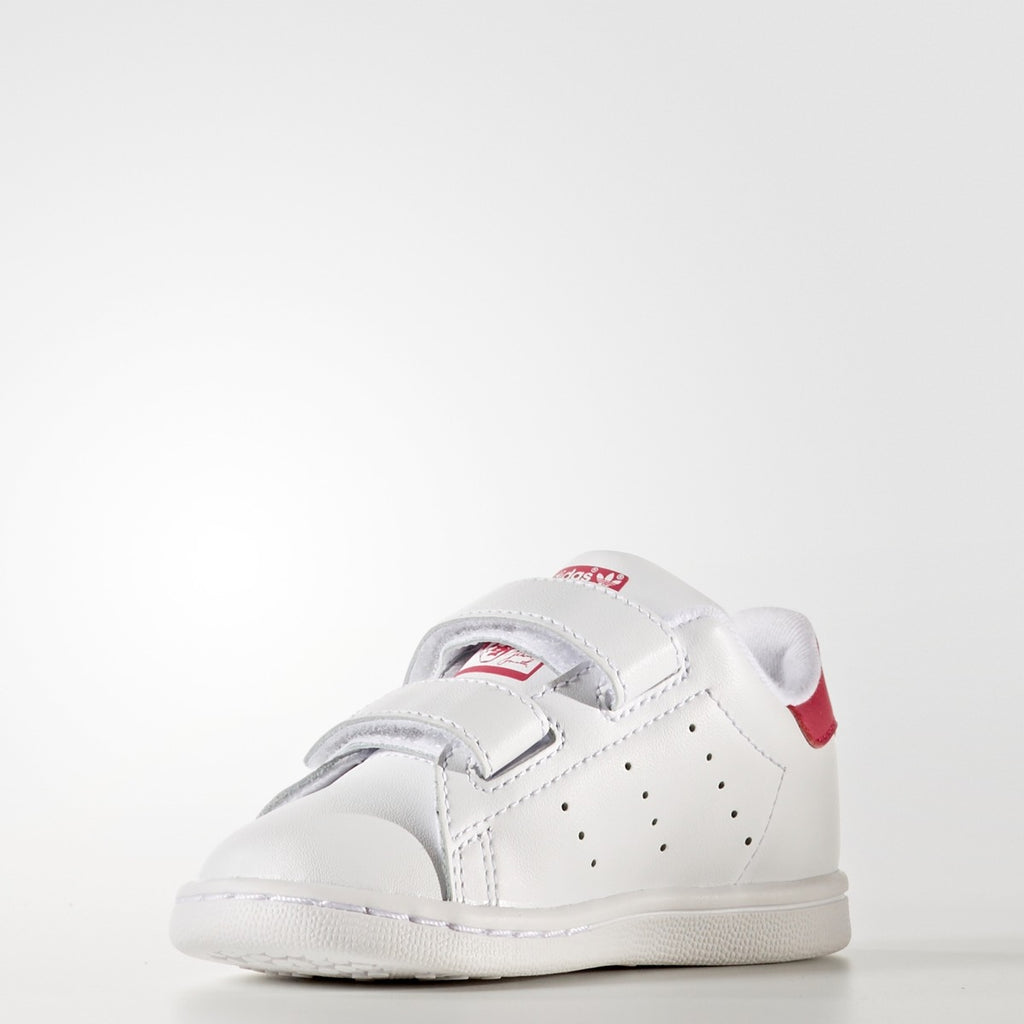 Toddler's adidas Originals Stan Smith Shoes White Pink