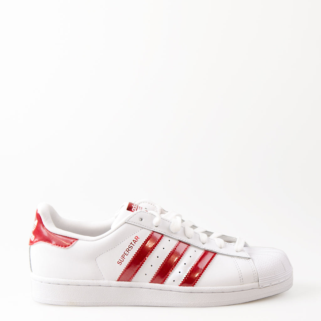 Women's Adidas Originals Superstar Shoes White AQ2870