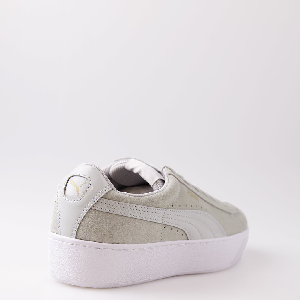 Women's PUMA Vikky Platform Shoes Gray
