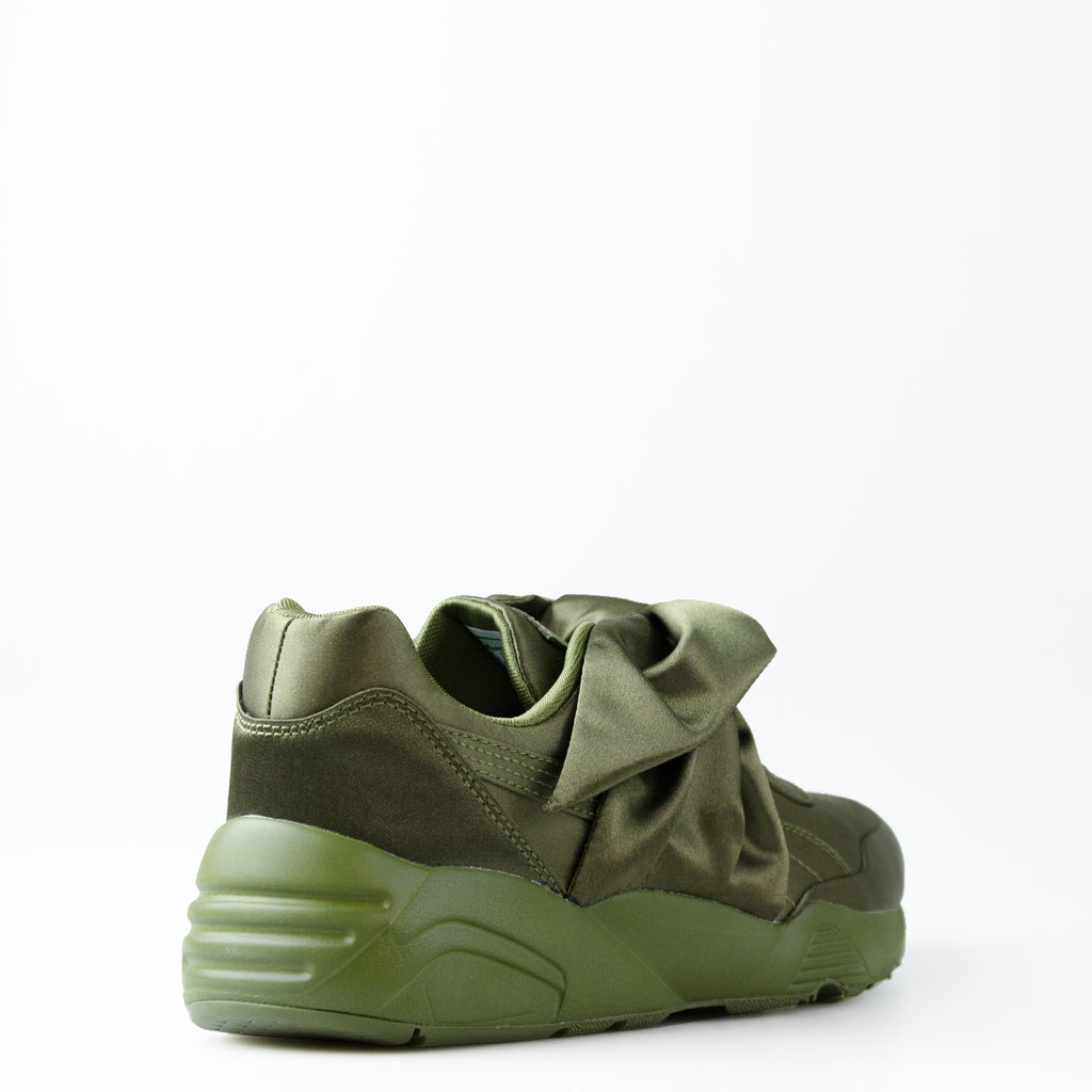 Women's Puma X Fenty by Rihanna Bow Sneakers Olive Green