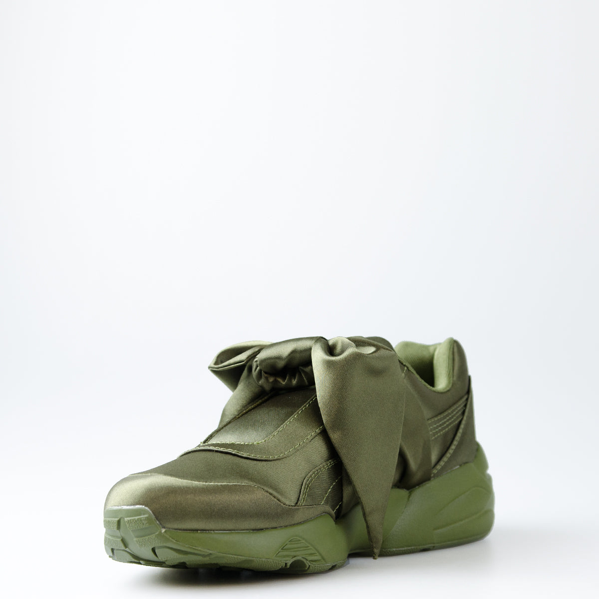 new style 18163 fea74 Women's Puma X Fenty by Rihanna Bow Sneakers Olive Green ...