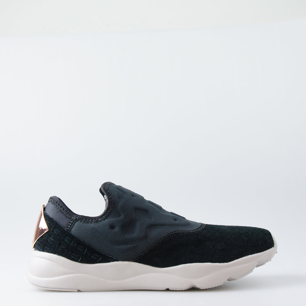 c0ee0c4ae01 Women s Reebok Classics Furylite Slip On FBT Shoes Black BS6413 ...