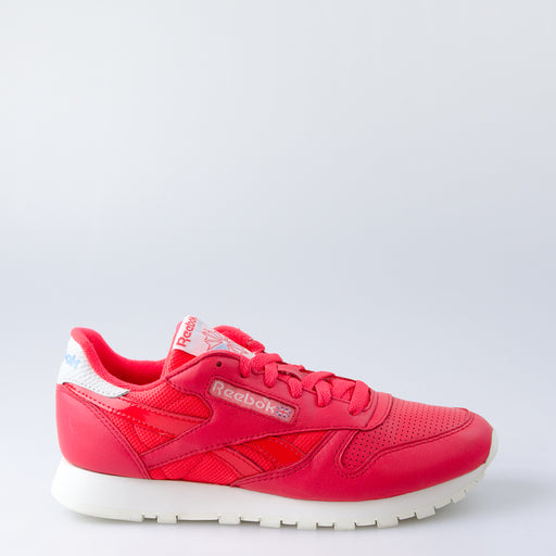 Women's Reebok Classic Leather Shoes Red