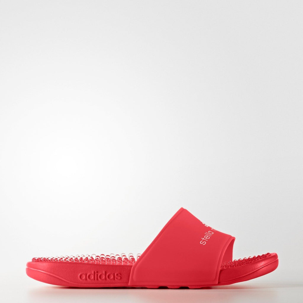 Women's Adidas by Stella McCartney Adissage Slides Red