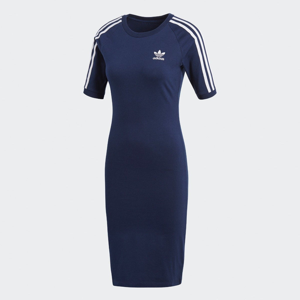 Women's adidas 3-Stripes Dress Collegiate Navy CY4749 | Chicago City Sports | front view