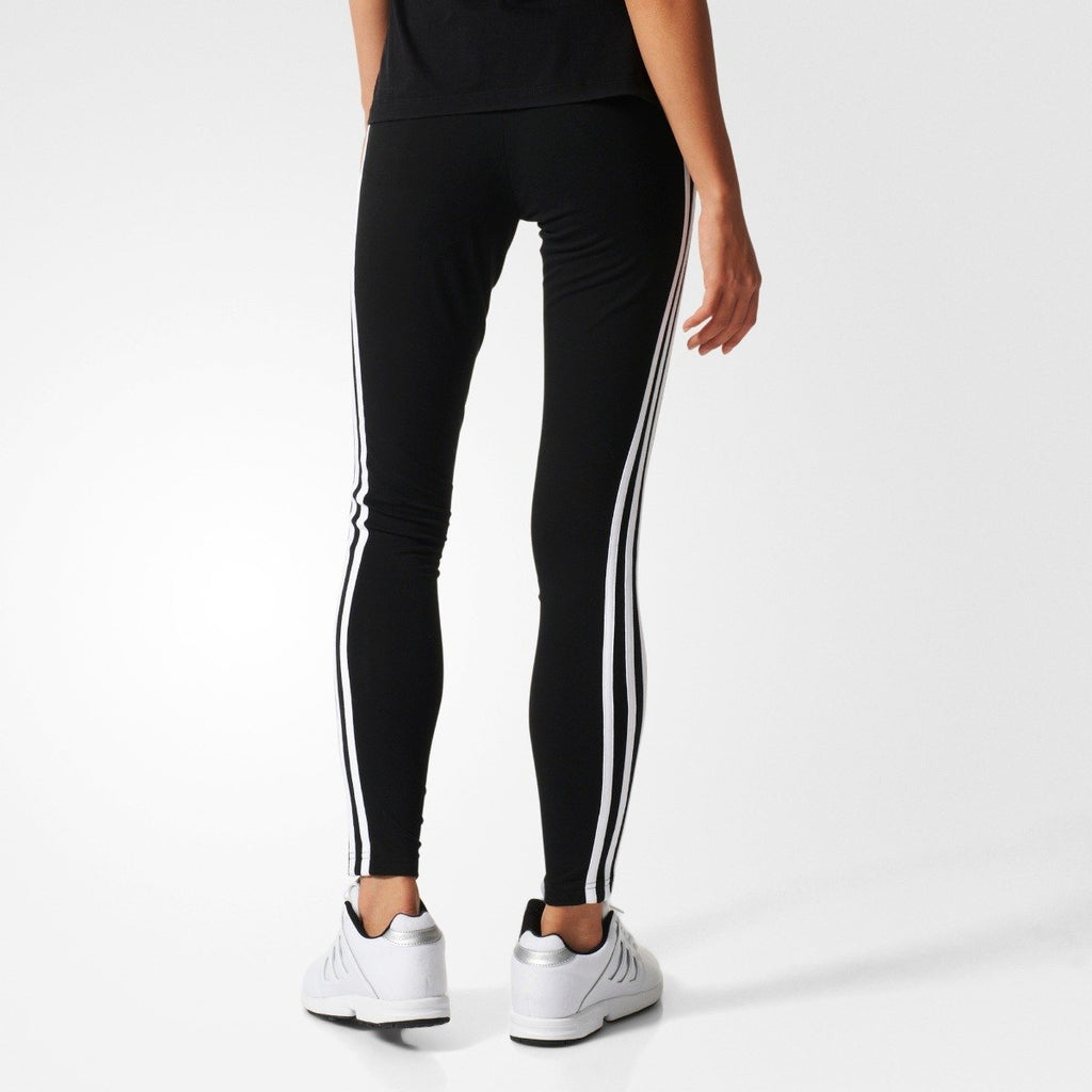 Women's Adidas Originals 3-Stripes Leggings BLACK