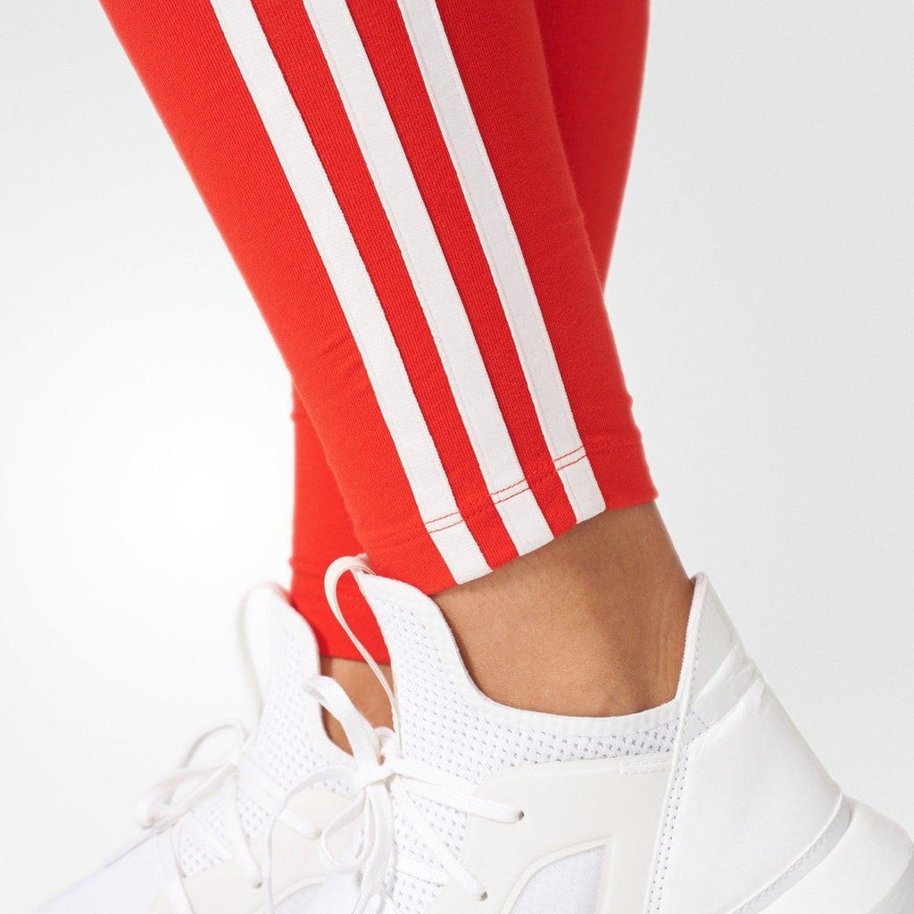 Women's Adidas Originals 3-Stripes Leggings Core Red