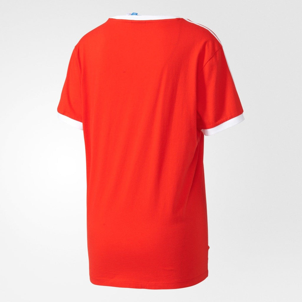 Women's Adidas Originals 3-Stripes Tee Core Red