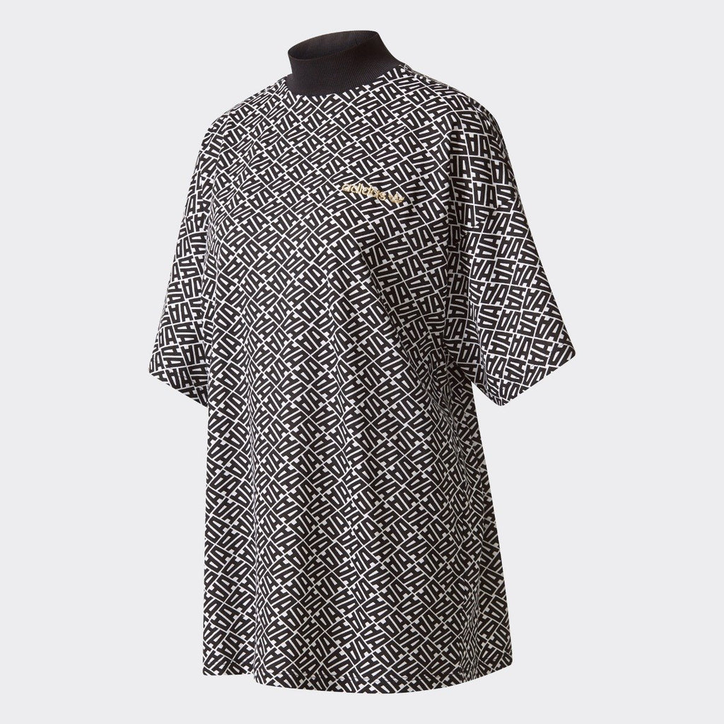 Women's adidas Originals Allover Print Oversize Tee