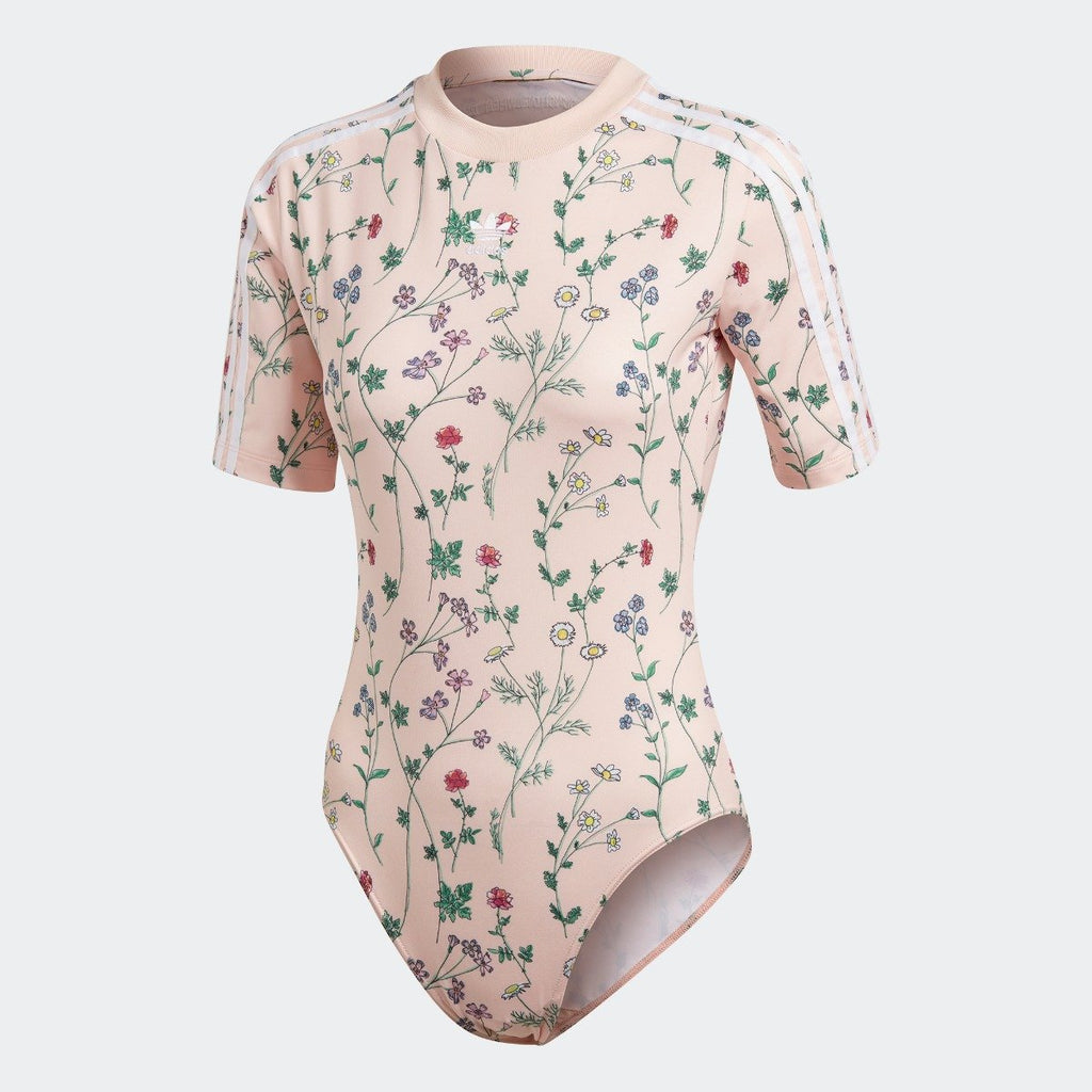 Women's adidas Originals Bodysuit Blush Pink