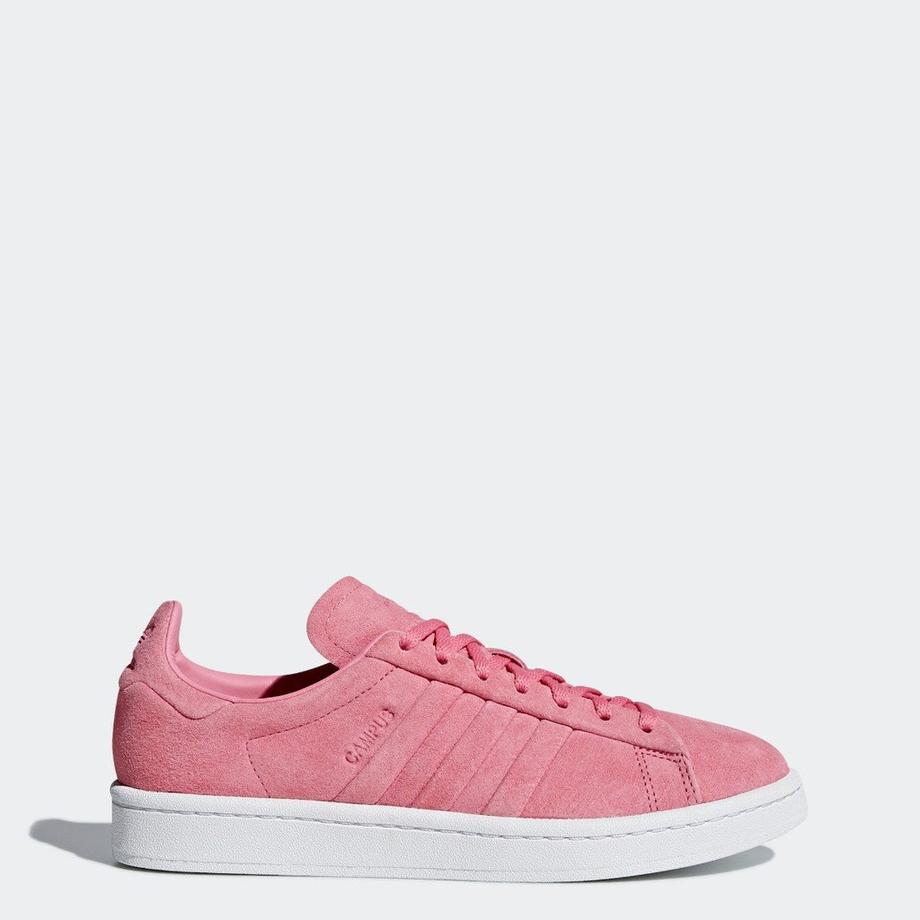 Women's adidas Originals Campus Stitch and Turn Shoes Chalk Pink
