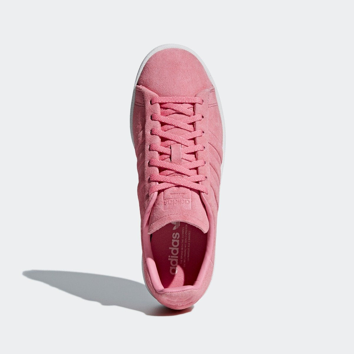 sports shoes 5799b b1e9c Womens adidas Originals Campus Stitch and Turn Shoes Chalk Pink. 1
