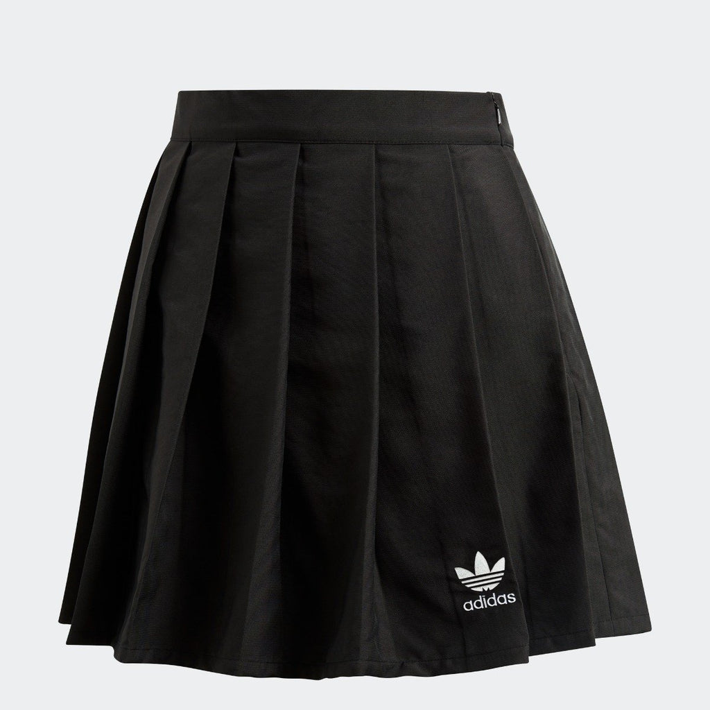 Women's adidas Originals CLRDO Skirt Black CV5793 | Chicago City Sports | front view